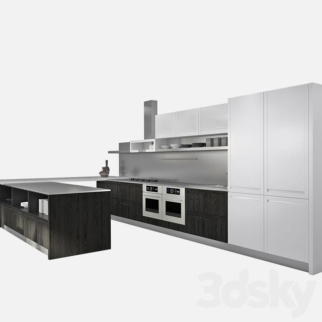 3d models: Kitchen - Kitchen GeD Cucine Treviso