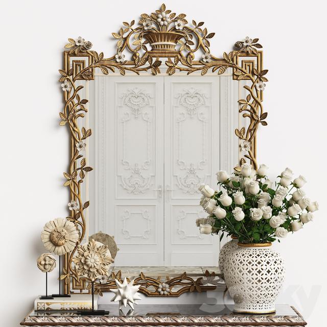 Mirror Chelini Art.1201