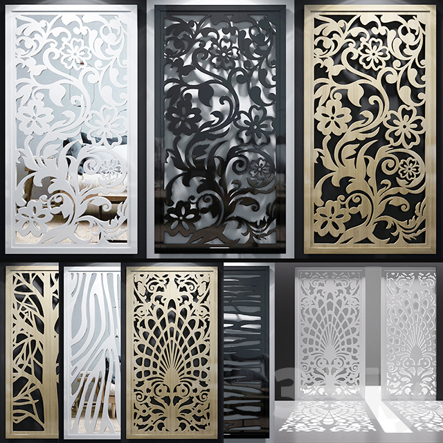 Set of decorative panels_11