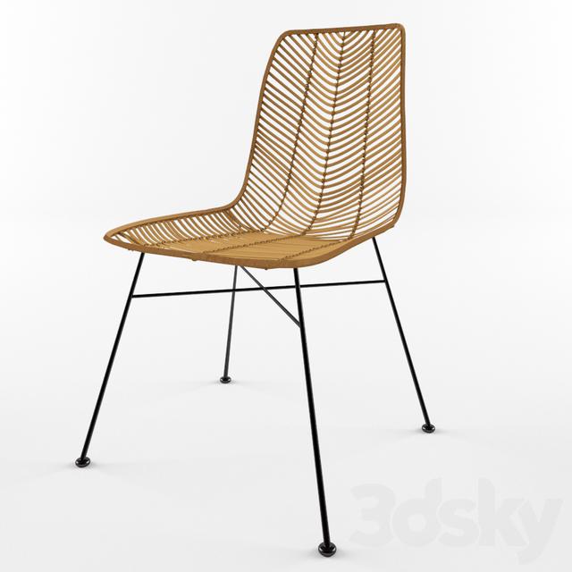 Chair Chaise Rotin LENA Bloomingville