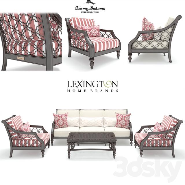 Lexington Home Brands Tommy Bahama Outdoor Black Sands