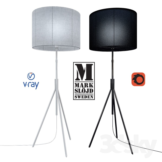 Model SLING, floor lamp from the company MARKSLOJD, Sweden.