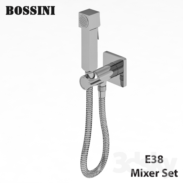 Bossini CUBE BRASS MIXER SET E38001