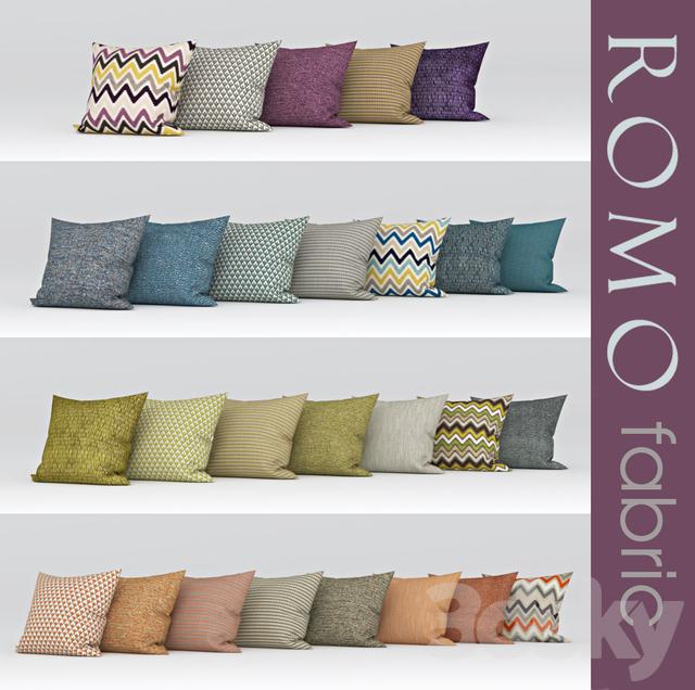 texture romo Marlow fabric a set of fabrics from ROMO