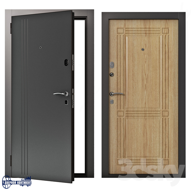 Entrance doors Continent-Line
