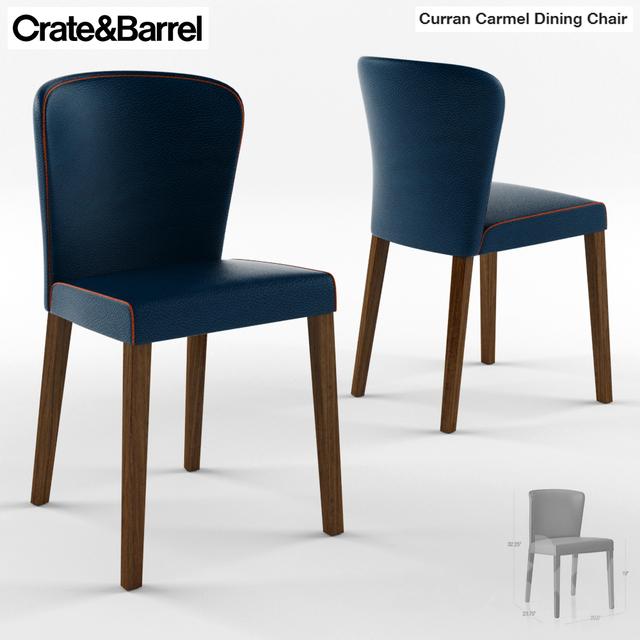 Merveilleux Crate U0026 Barrel Curran Crema Dining Chair