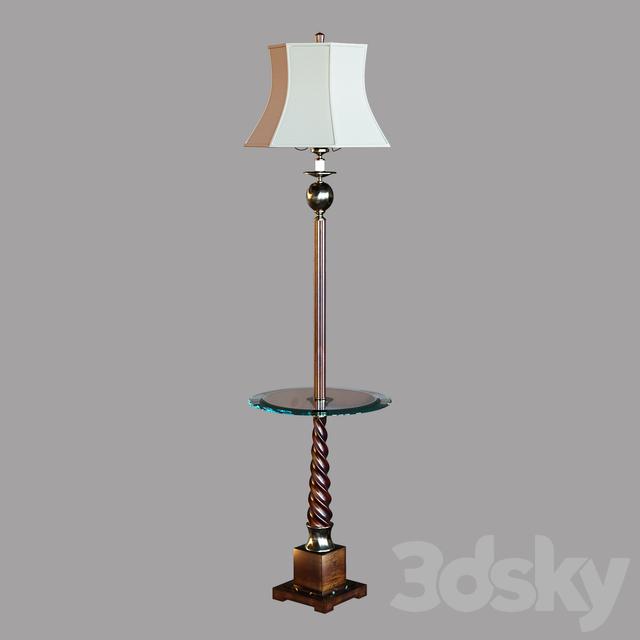 3d Models Floor Lamp Myron Twist Floor Lamp