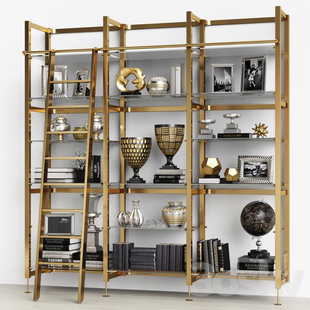Eichholtz Cabinet Delano with stairs 109998