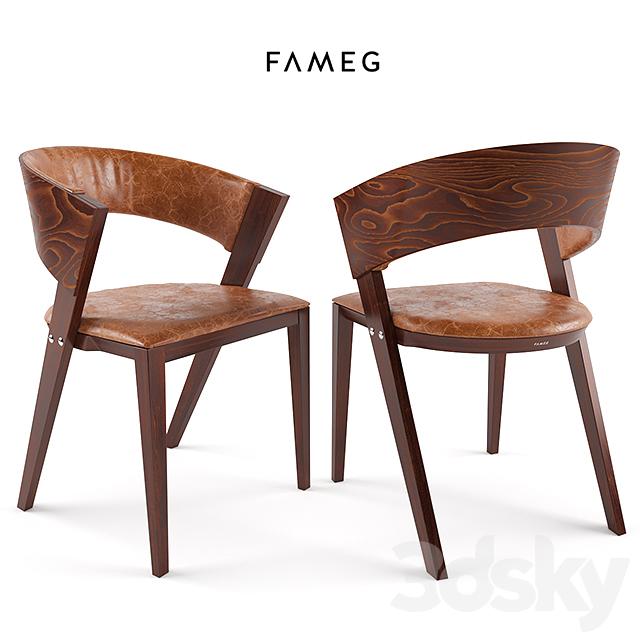 3d Models Chair Fameg B 1404