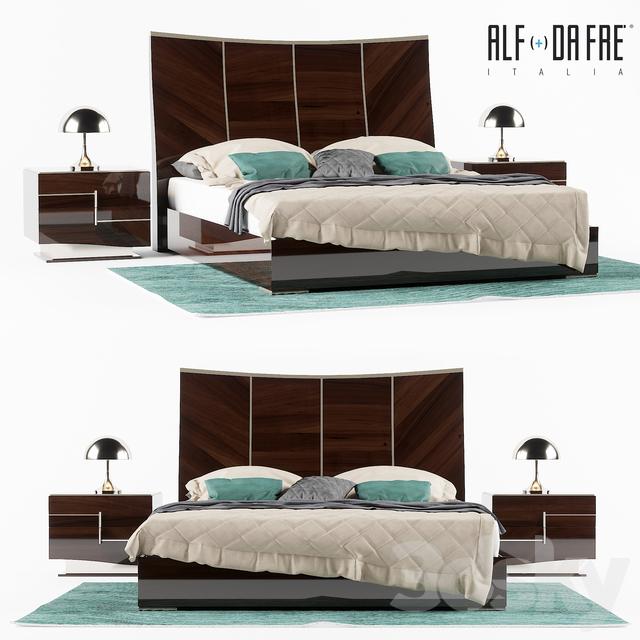 3d models: Bed - ALF DA FRE bellagio bedroom (for re-attestation)