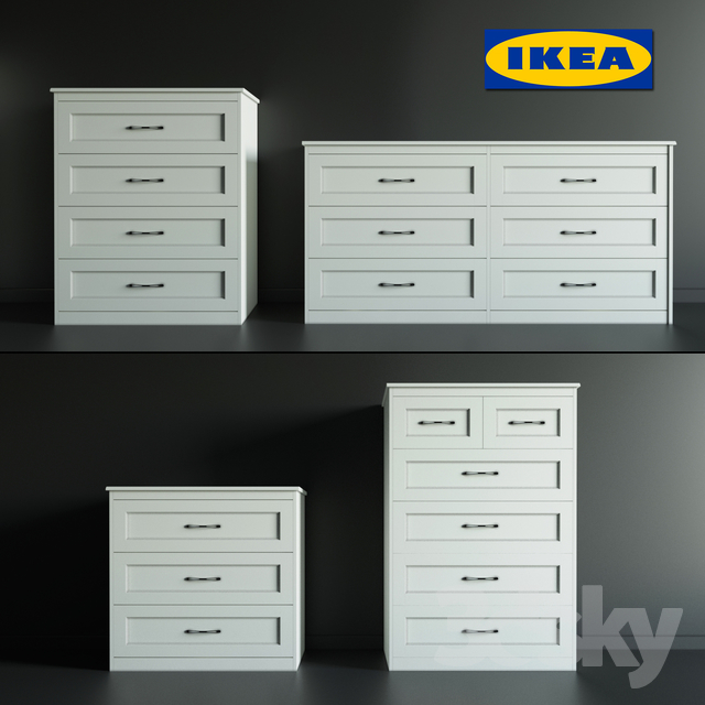 new styles eef2e 94d32 3d models: Sideboard & Chest of drawer - Chest of drawers ...