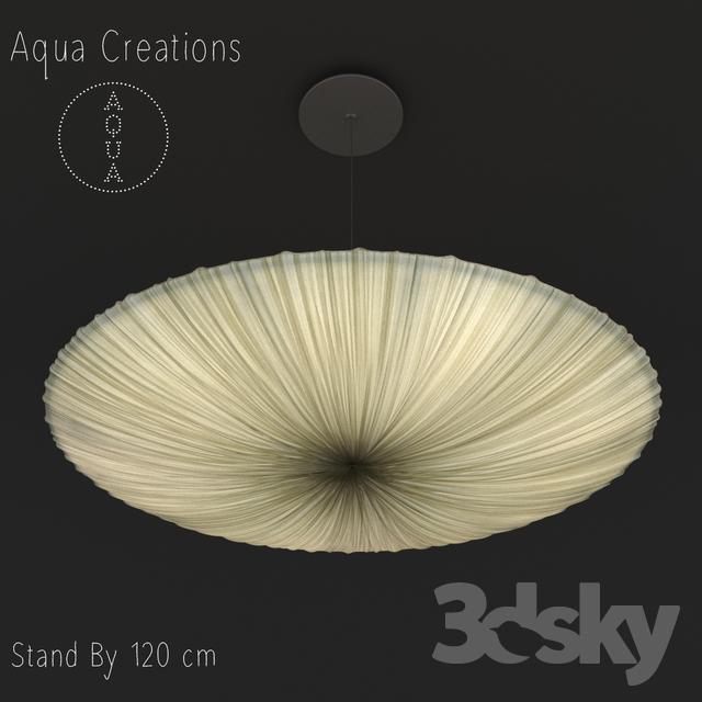 3d models ceiling light aqua creations stand by