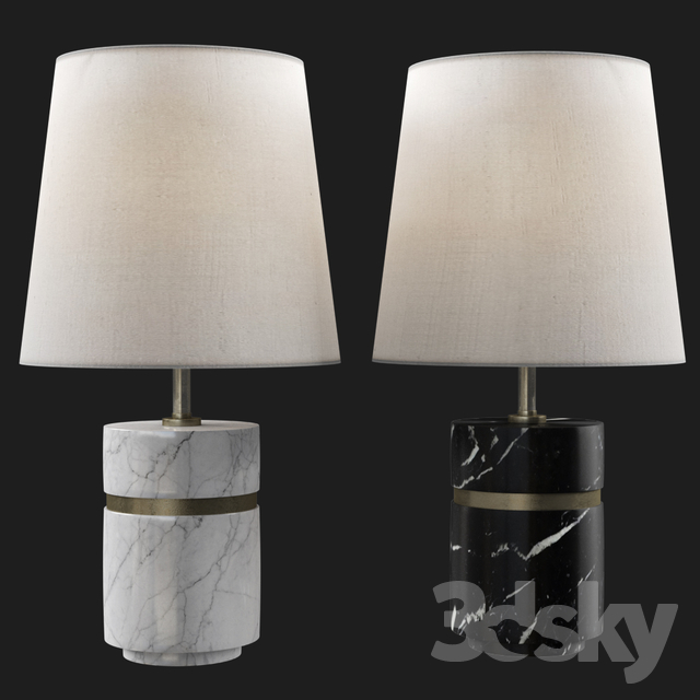 3d models table lamp baker band short table lamp baker band short table lamp aloadofball Gallery