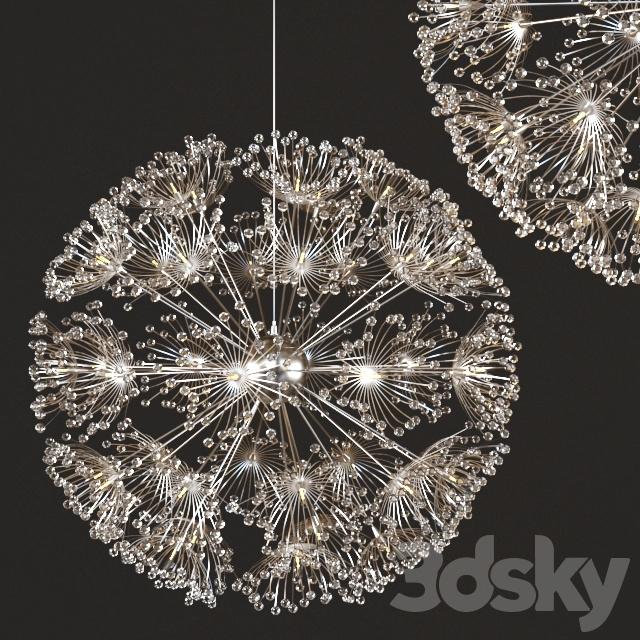 Norbic Modern Brief K9 Crystal Flower