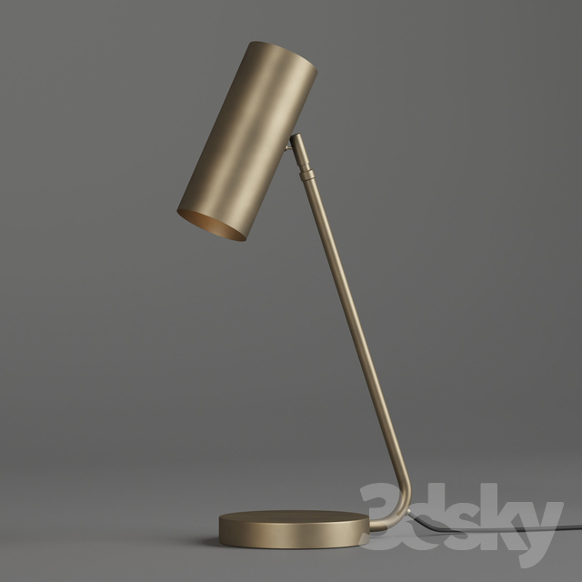 Schoolhouse landau lamp