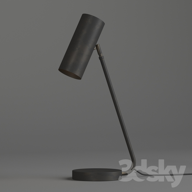 3d models table lamp schoolhouse landau lamp
