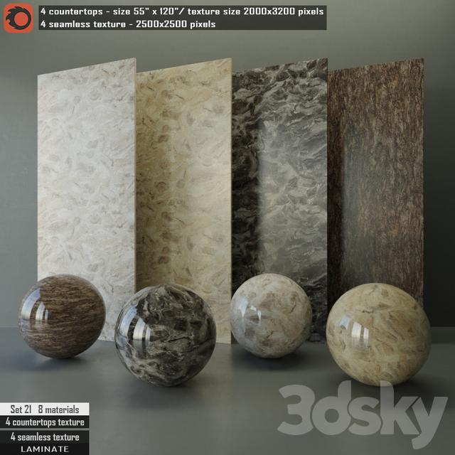 Laminate Countertops U0026 Seamless Texture Set 21