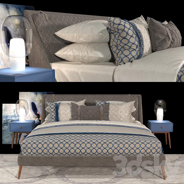 Bed CHELSEA - Berto salotti