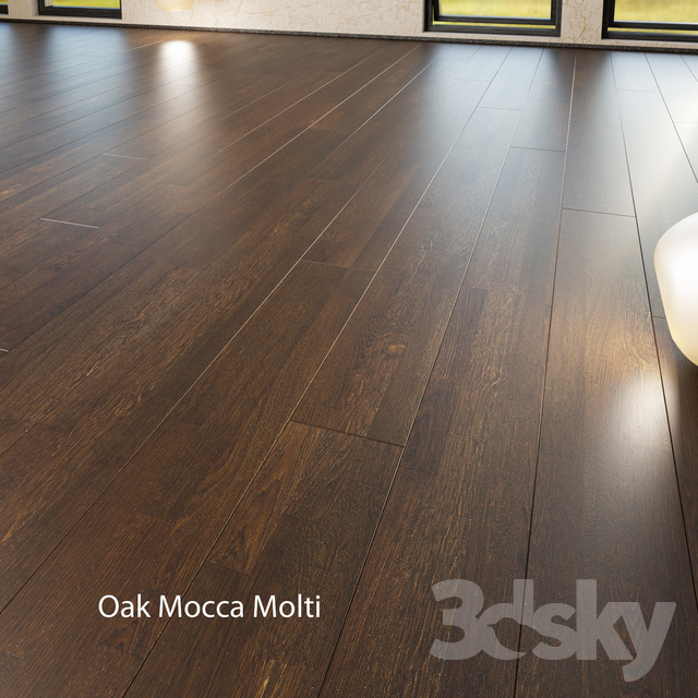 Barlinek Floorboard - Decor Line - Oak Mocca Molti
