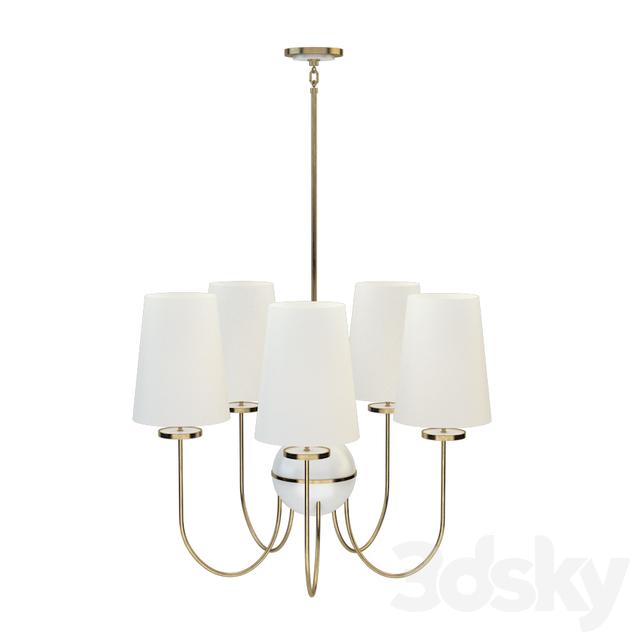 3d Models Ceiling Light Robert Abbey Fineas Chandeliers