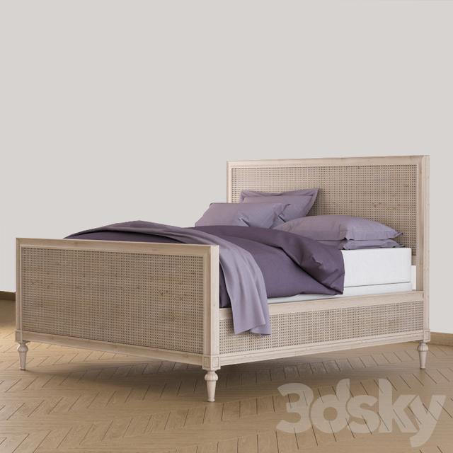 Models Bed Rh Maison Caned