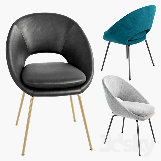 Exceptionnel WEST ELM Orb Dining Chair