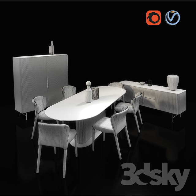 3d Models Other Furniture Of The Italian Factory Alf