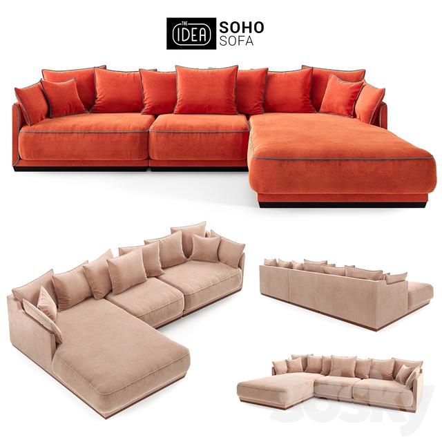 The IDEA Modular Sofa SOHO (item 801-805-812)
