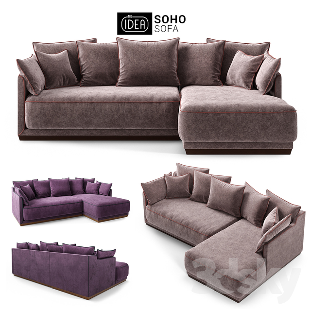 The IDEA Modular Sofa SOHO (item 823-810)