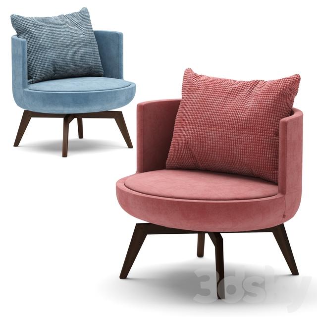 BTdesign Round Armchair