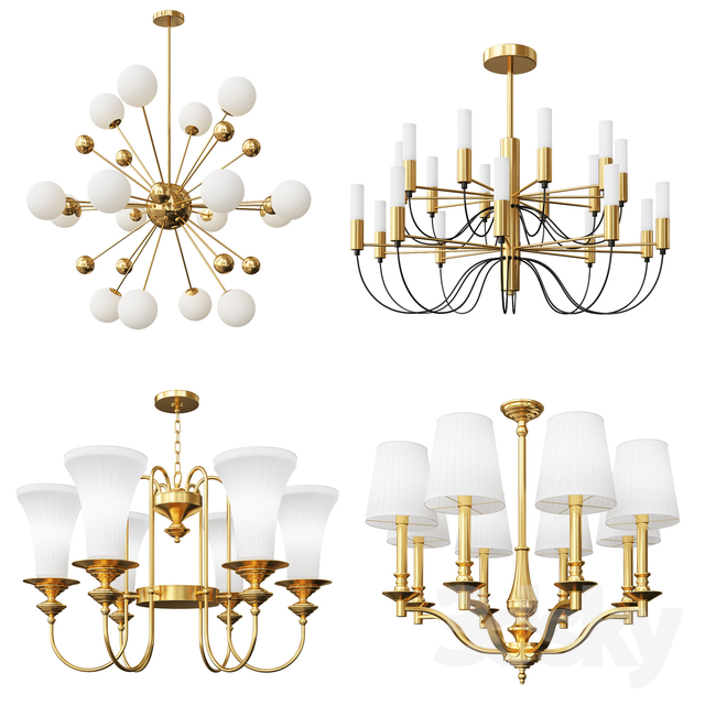 Four Nice Modern And Classic Chandeliers