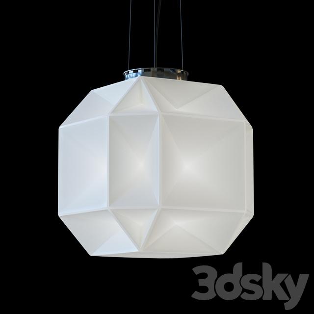 3d Models Ceiling Light Ideal Lux Diamond Sp1 Big 022499