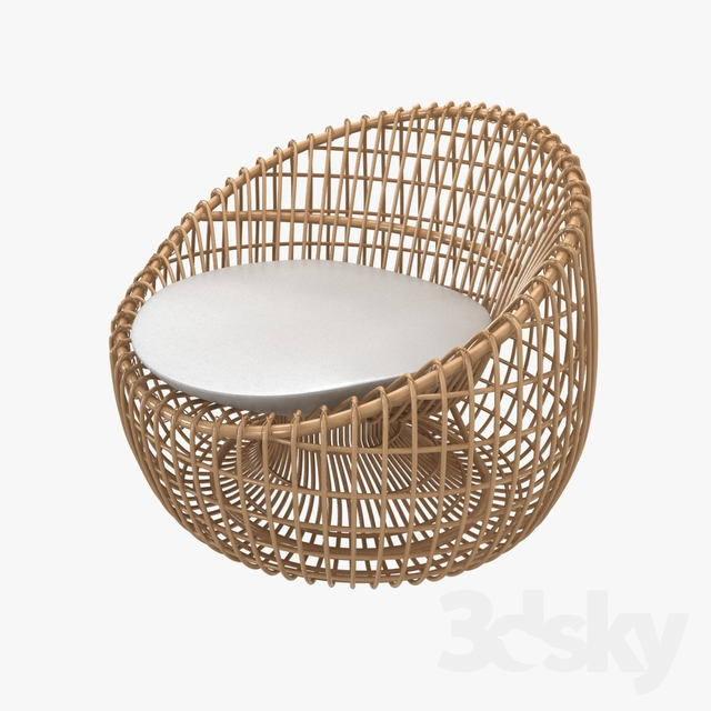 Cane Line Nest Lounge Chair