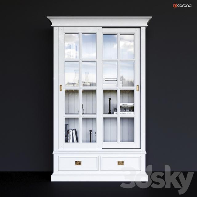 Showcase two-door Oxford Dantone Home