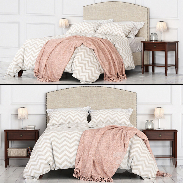 Potterybarn Fillmore Bed