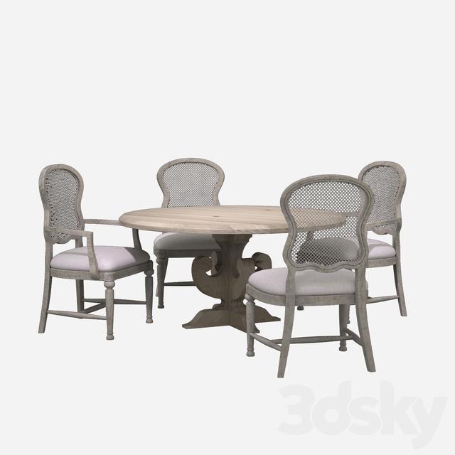 Hooker Furniture Dining Room Boheme