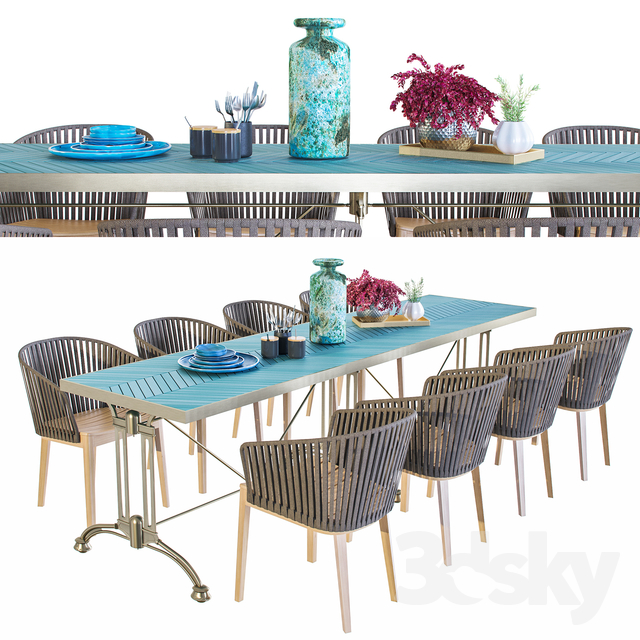 Tribu Outdoor Furniture Set