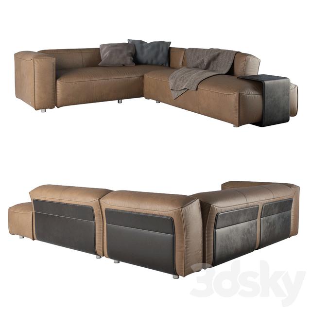 3d Models Sofa Rolf Benz Mio 552245