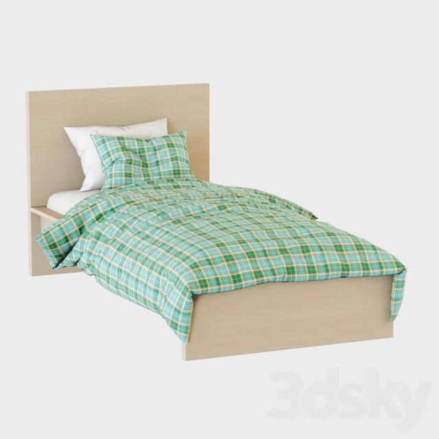 Bed Malm Ikea
