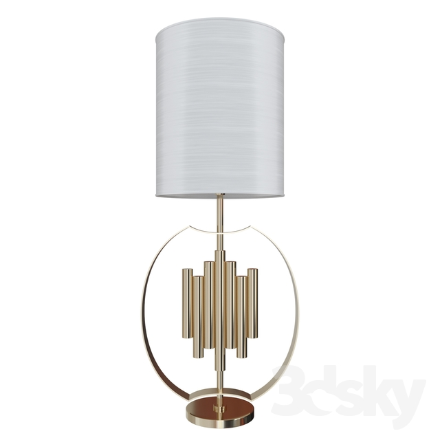 Creative mary Gold Tupelo table lamp