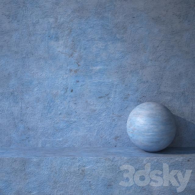 Stucco blue 16