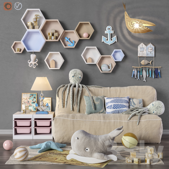 Toys and furniture set 31