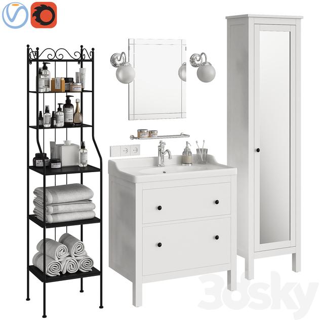 Ikea Hemnes bathroom