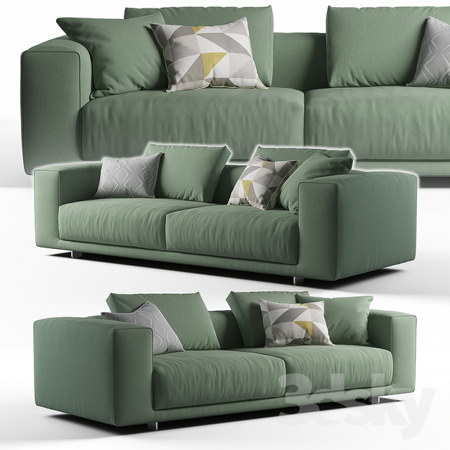 Moss sofa Cor