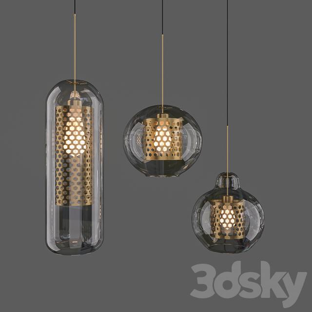 Models Ceiling Light Chiswick Gl Pendant