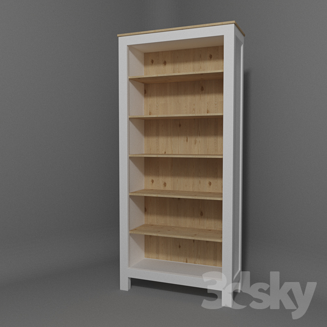 3d models: Wardrobe & Display cabinets - IKEA HEMNES Bookcase on expedit bookcase, painted bookcase, ikea besta bookcase, black bookcase, laiva bookcase, stained white bookcase, ikea narrow bookcase, best ikea bookcase, malm bookcase, lacquered ikea bookcase, ikea lack bookcase,