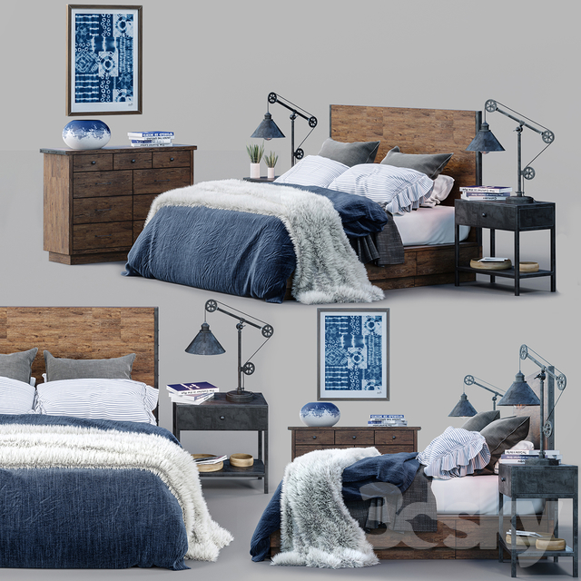 Big Daddy's Antiques Bed Set