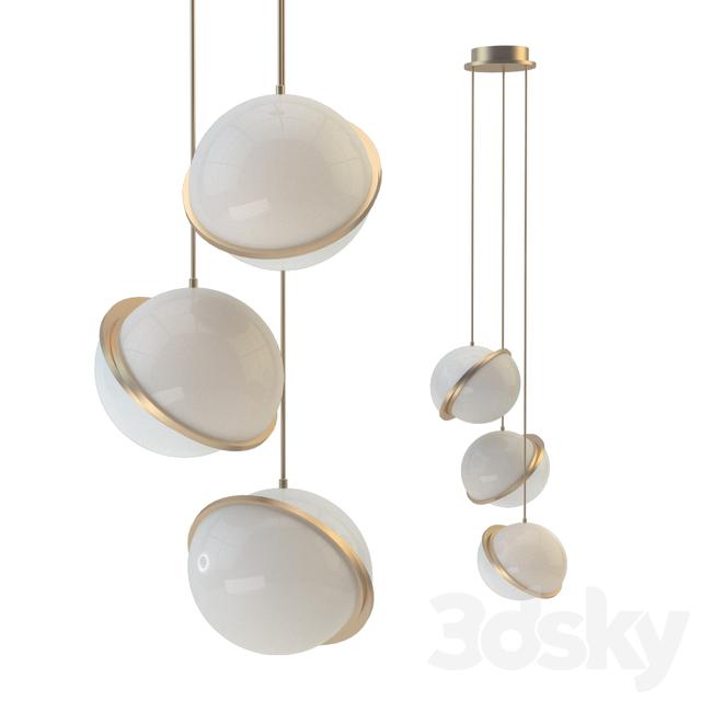 Models Ceiling Light Crescent Lighting By Lee Broom