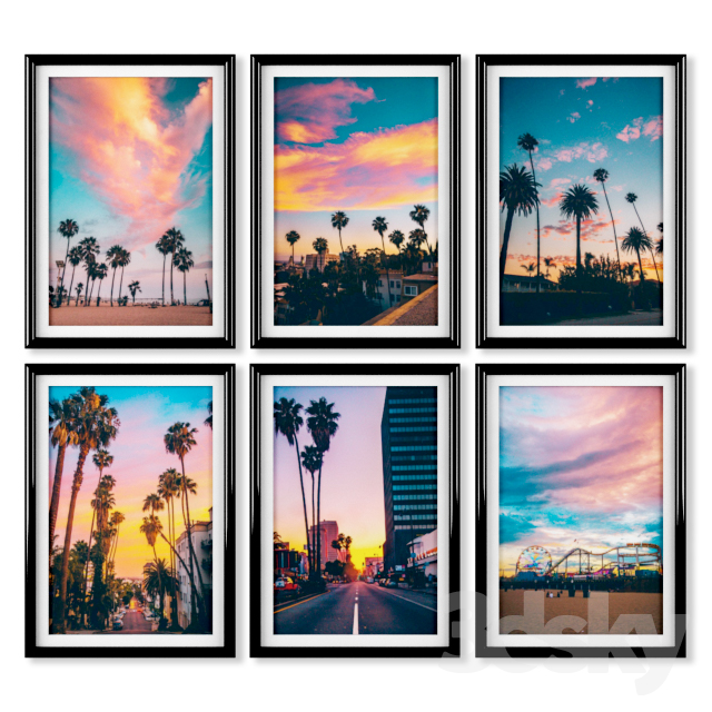 Posters: Los Angeles, California.