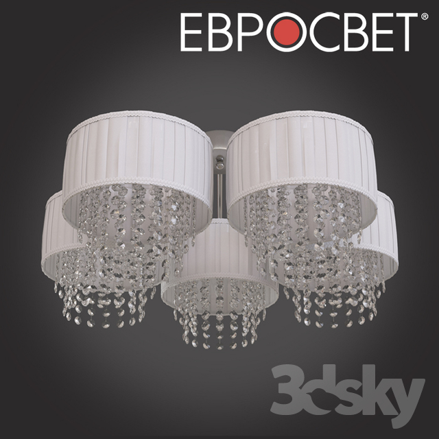 OM Ceiling chandelier with crystal Bogate's 246/5 ​​Strotskis